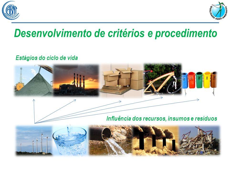 Desenvolvimento de critérios e procedimento