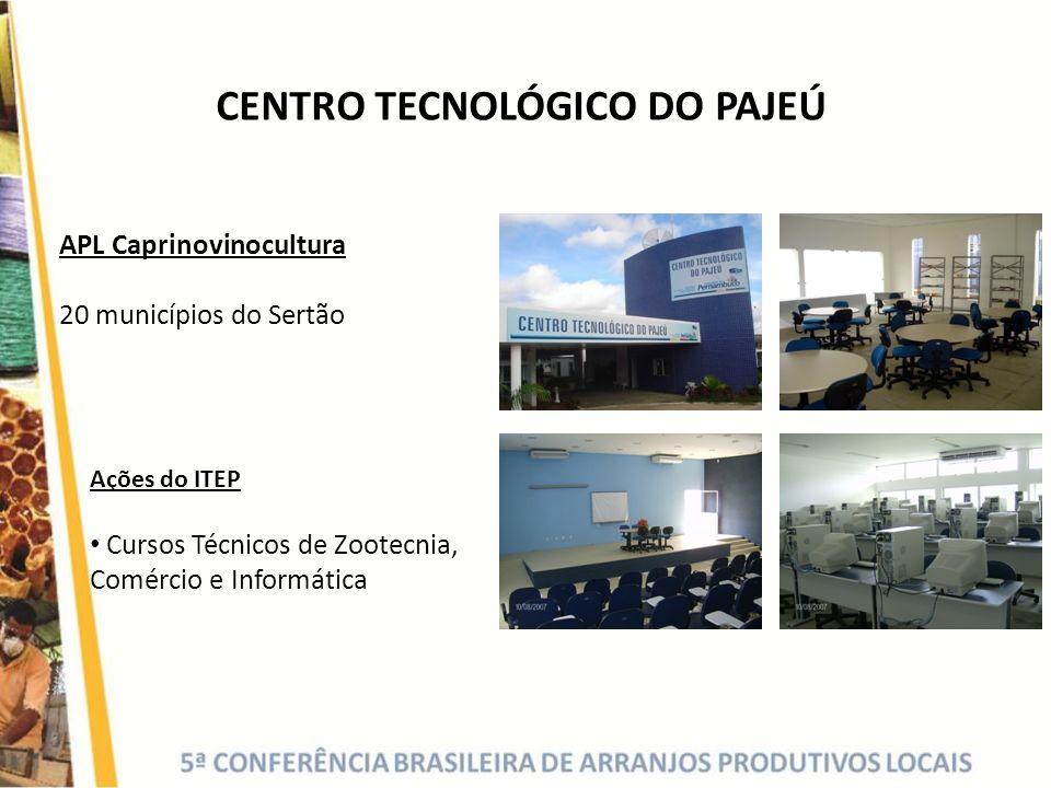 CENTRO TECNOLÓGICO DO PAJEÚ
