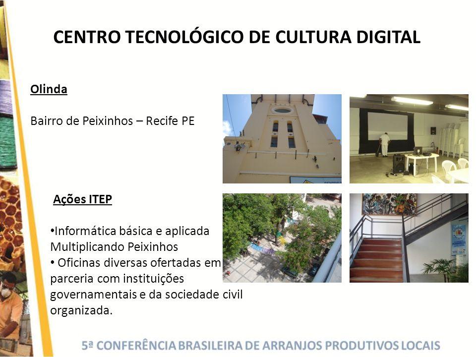 CENTRO TECNOLÓGICO DE CULTURA DIGITAL