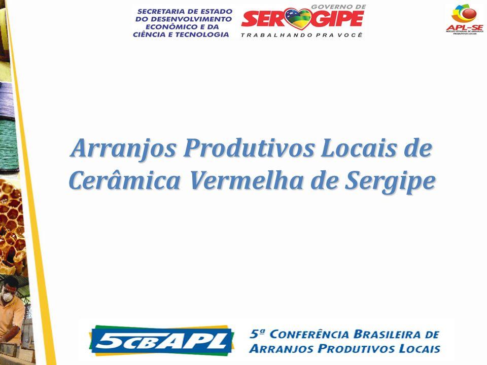 Arranjos Produtivos Locais de Cerâmica Vermelha de Sergipe