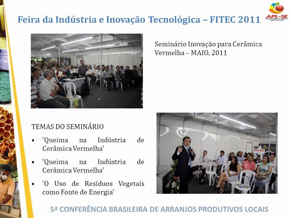 Feira da Indústria e Inovação Tecnológica – FITEC 2011