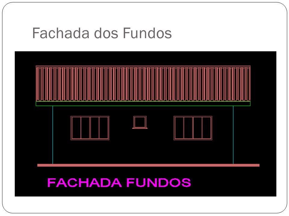 Fachada dos Fundos