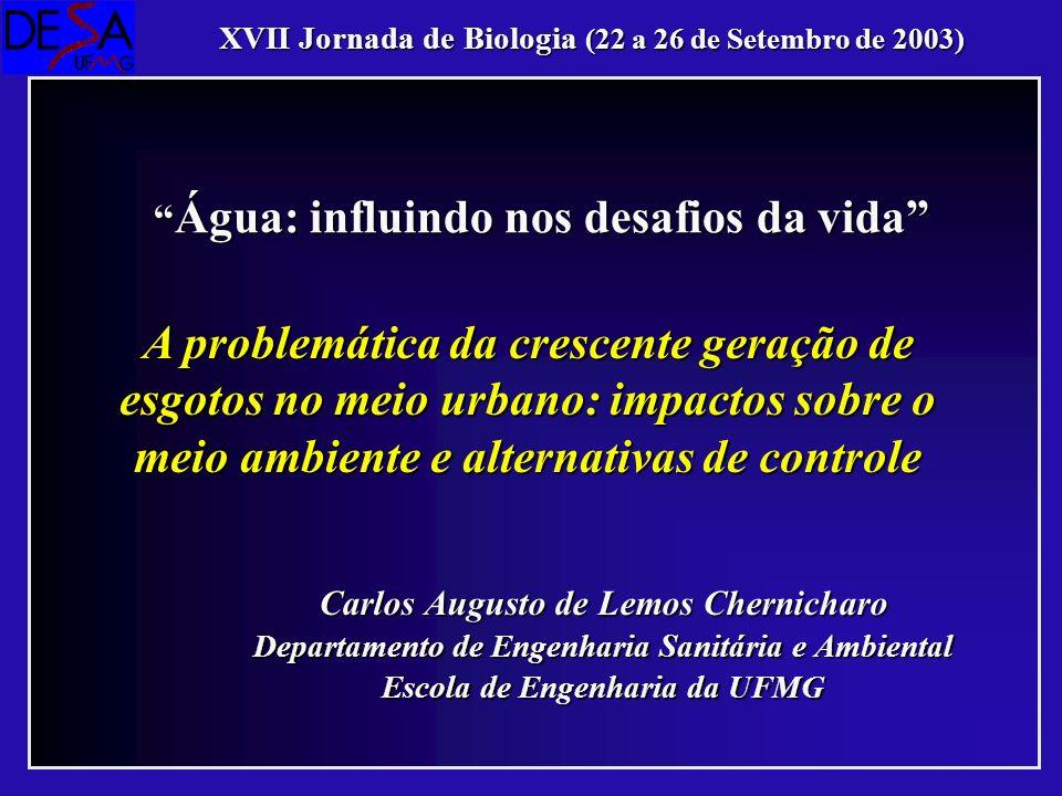 XVII Jornada de Biologia (22 a 26 de Setembro de 2003)