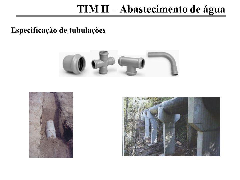 TIM II – Abastecimento de água