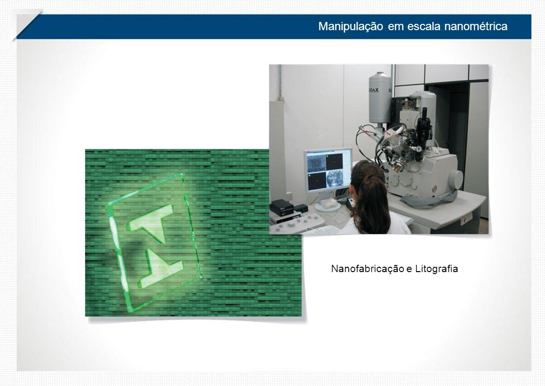 Manipulação em escala nanométrica