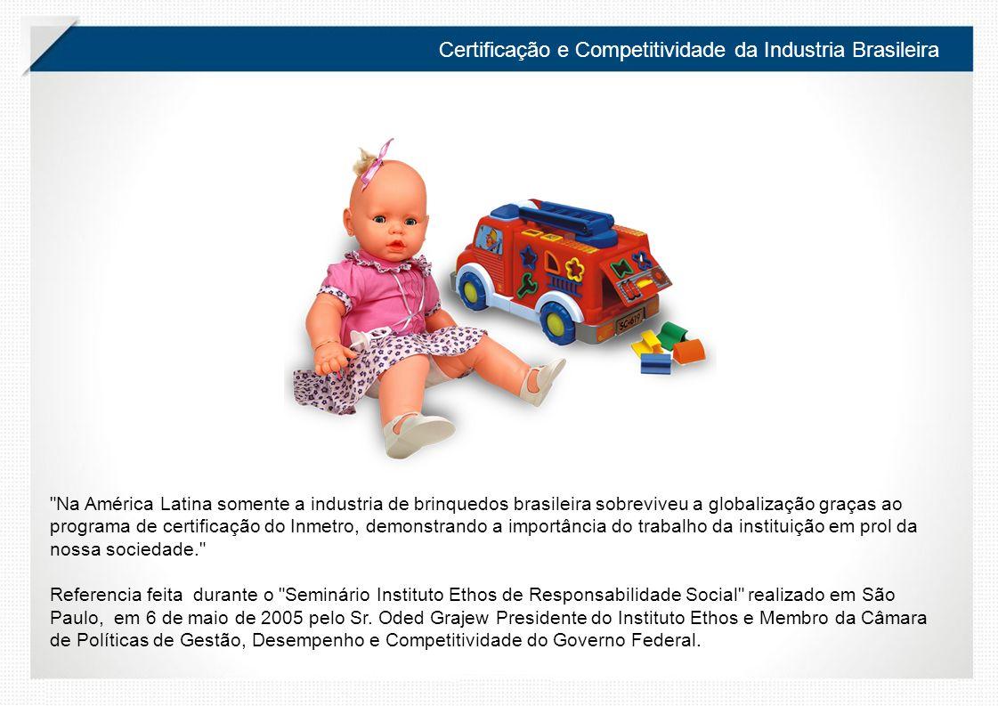 Certificação e Competitividade da Industria Brasileira