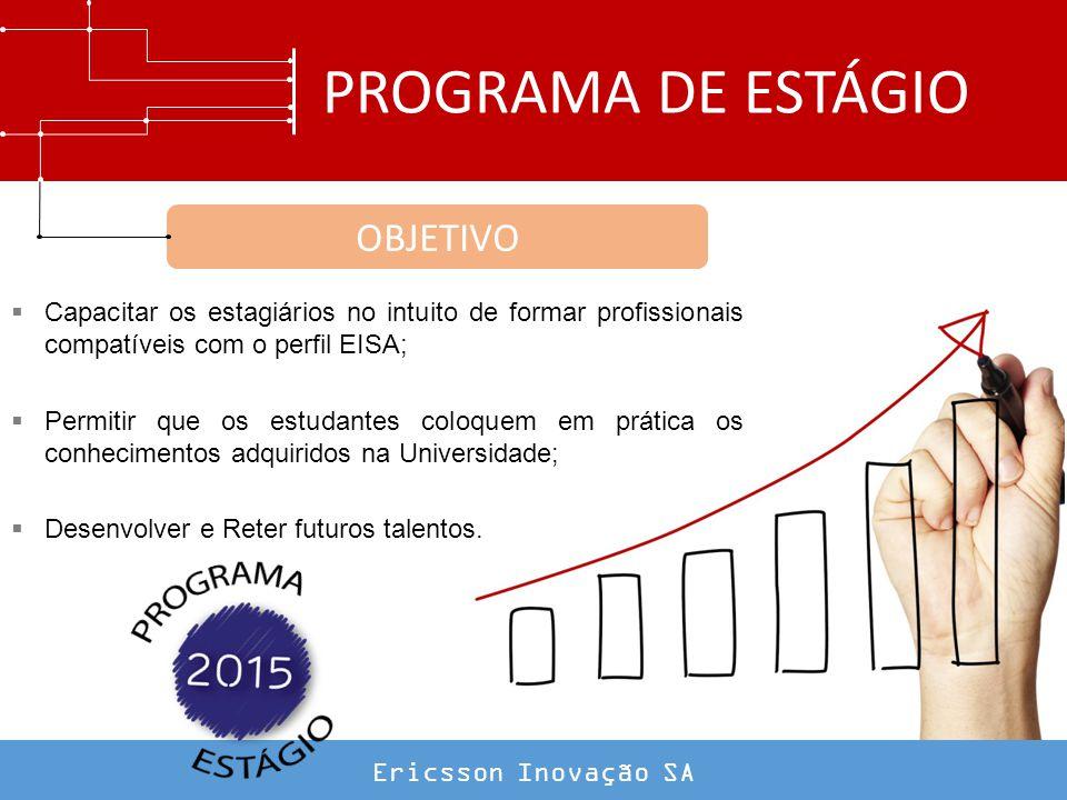 PROGRAMA DE ESTÁGIO OBJETIVO