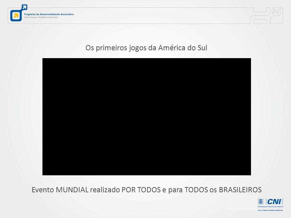 Os primeiros jogos da América do Sul