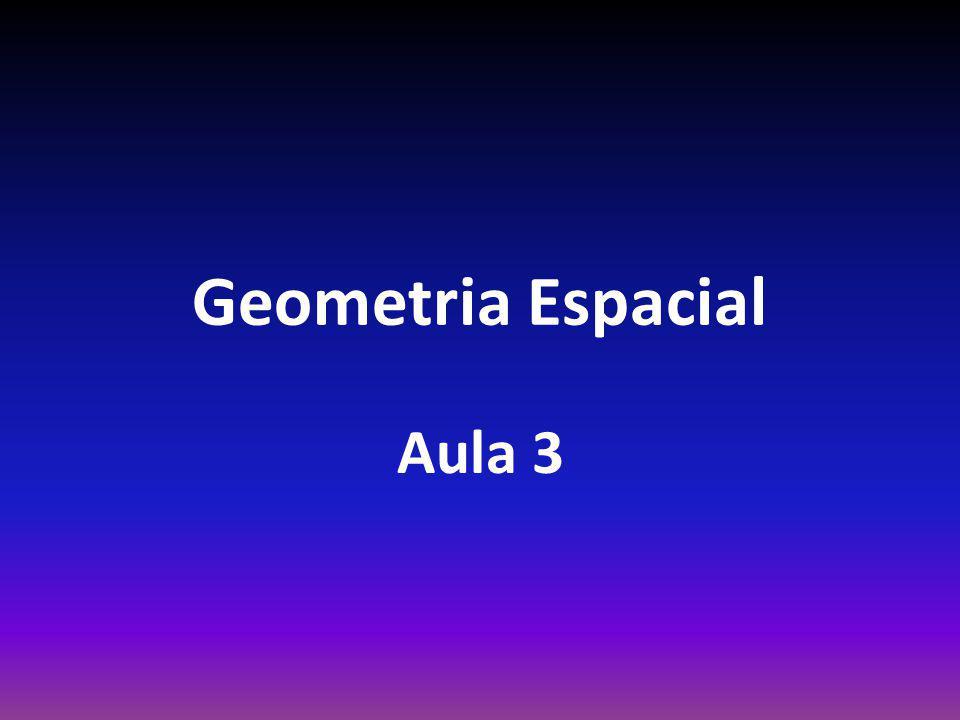 Geometria Espacial Aula 3