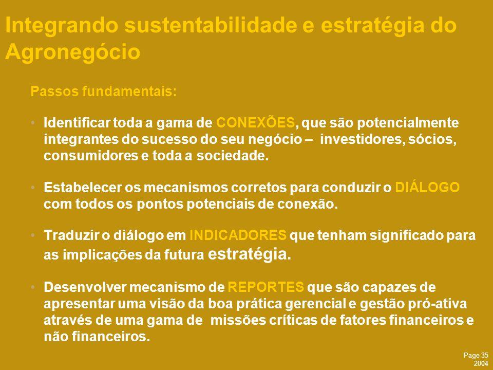 Integrando sustentabilidade e estratégia do Agronegócio