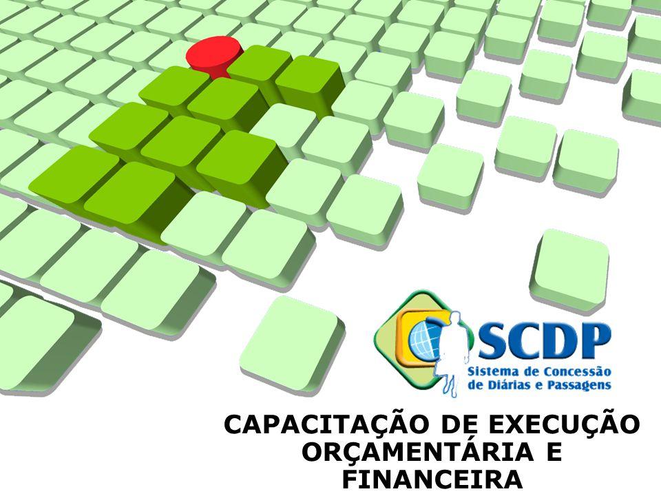 CAPACITAÇÃO DE EXECUÇÃO ORÇAMENTÁRIA E FINANCEIRA