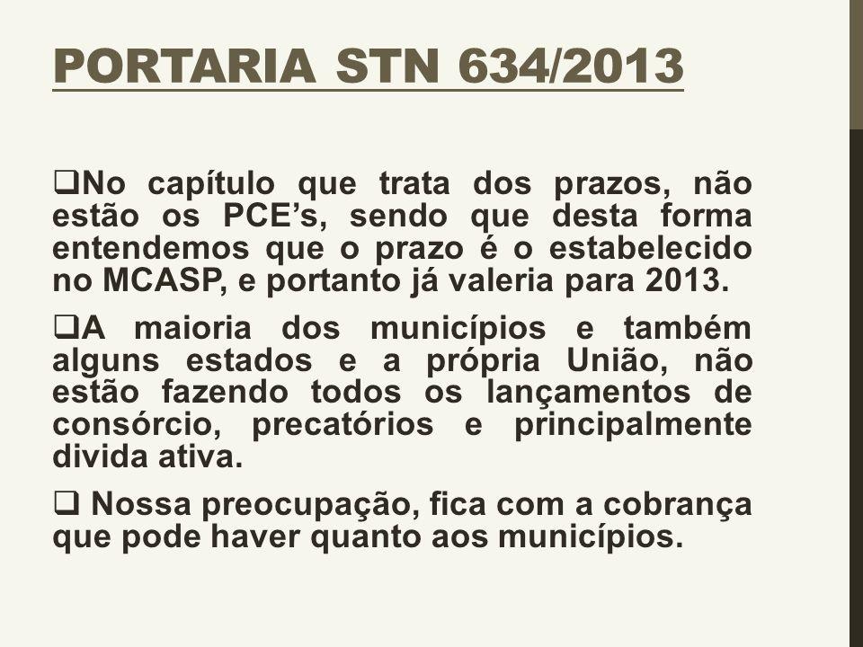 Portaria STN 634/2013
