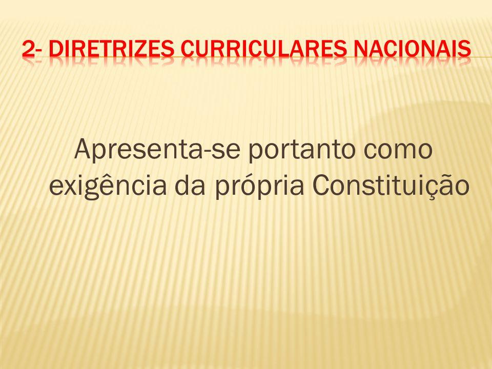 2- Diretrizes Curriculares Nacionais