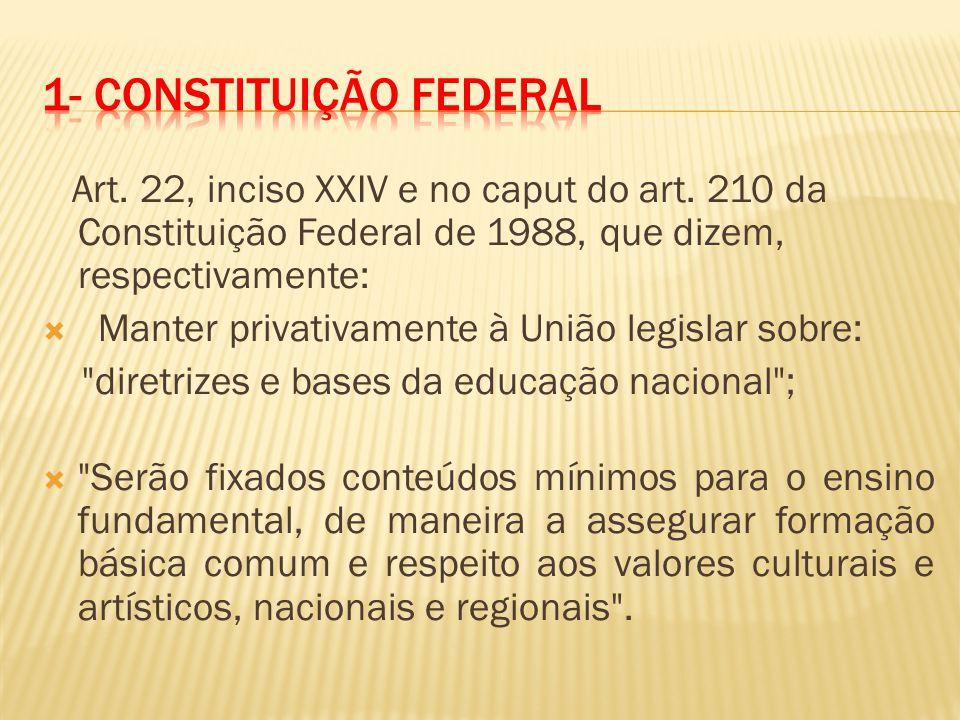 1- ConstituiÇÃo Federal