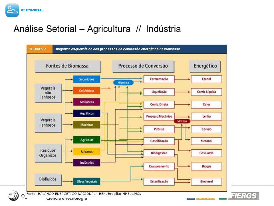 Análise Setorial – Agricultura // Indústria