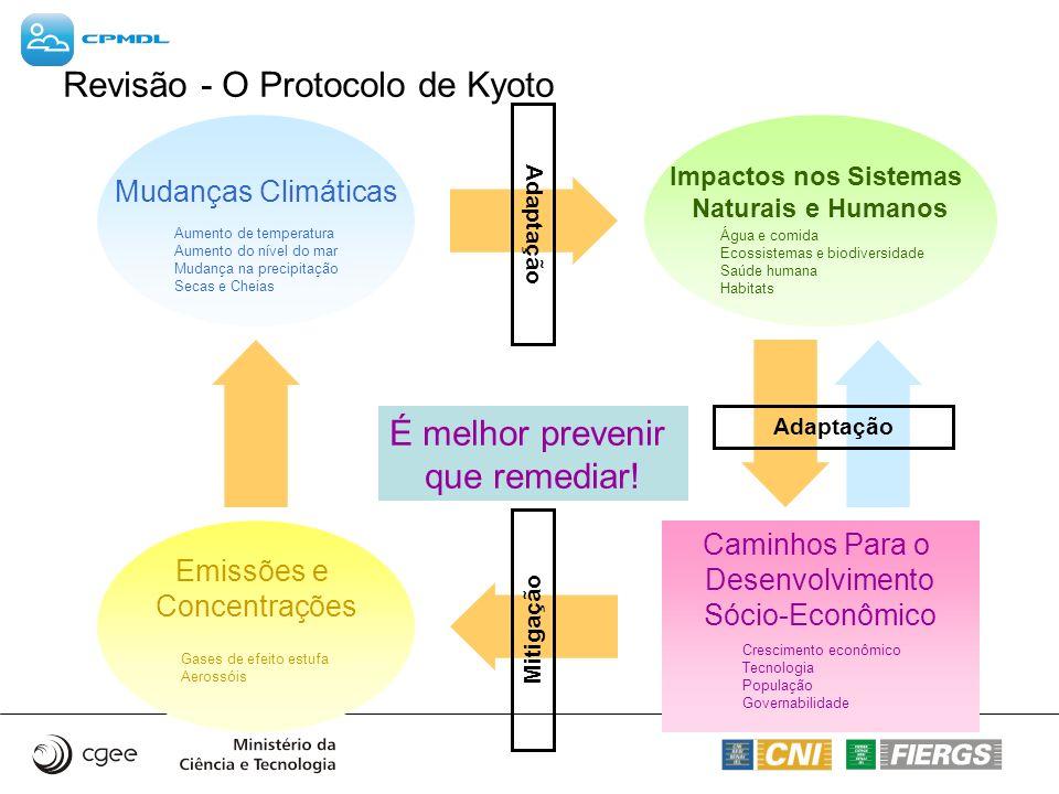 Revisão - O Protocolo de Kyoto