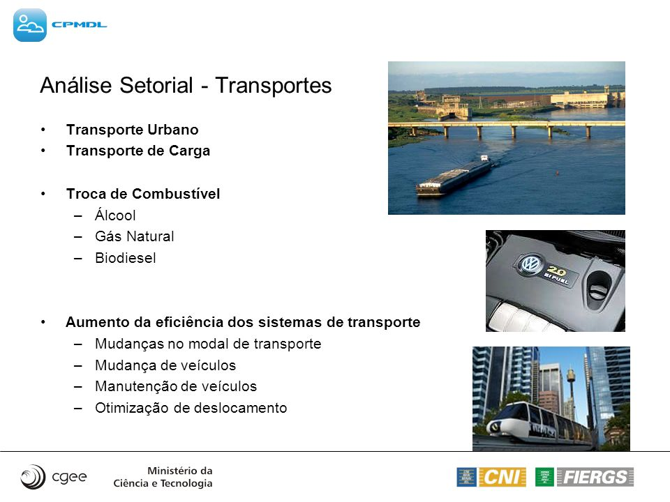 Análise Setorial - Transportes