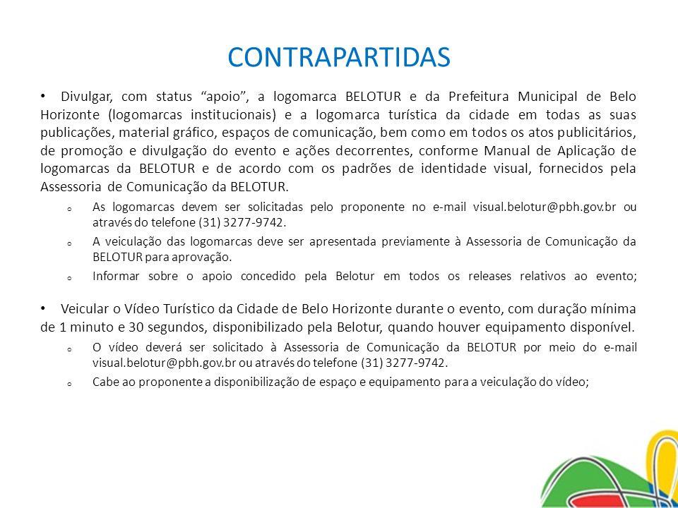 CONTRAPARTIDAS