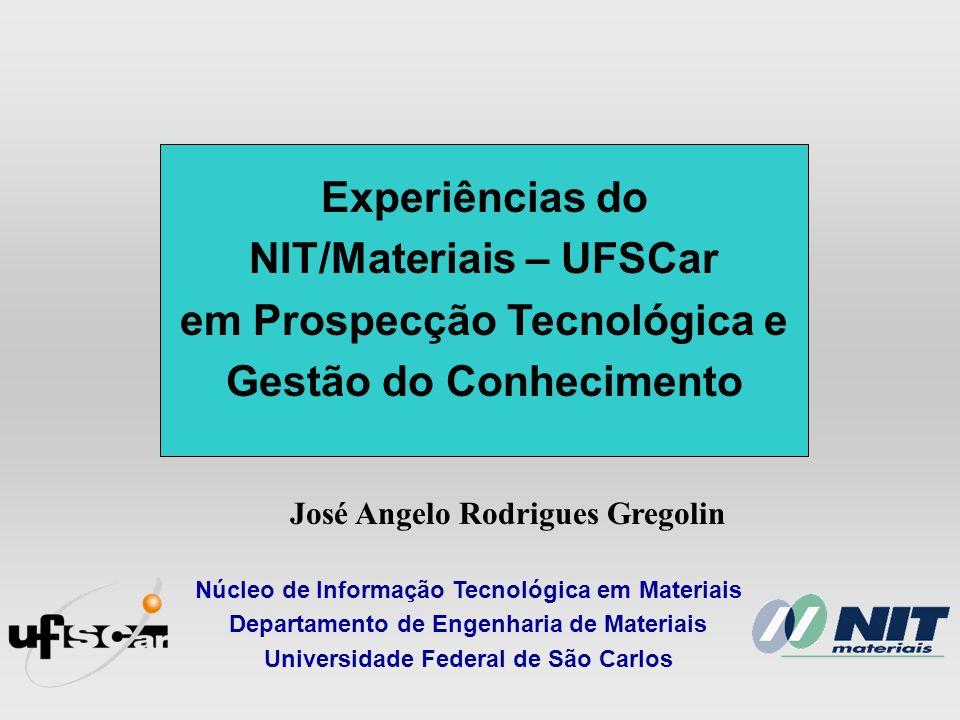 NIT/Materiais – UFSCar