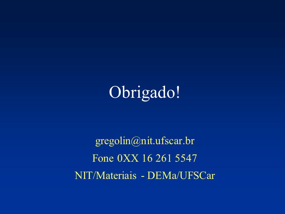 NIT/Materiais - DEMa/UFSCar