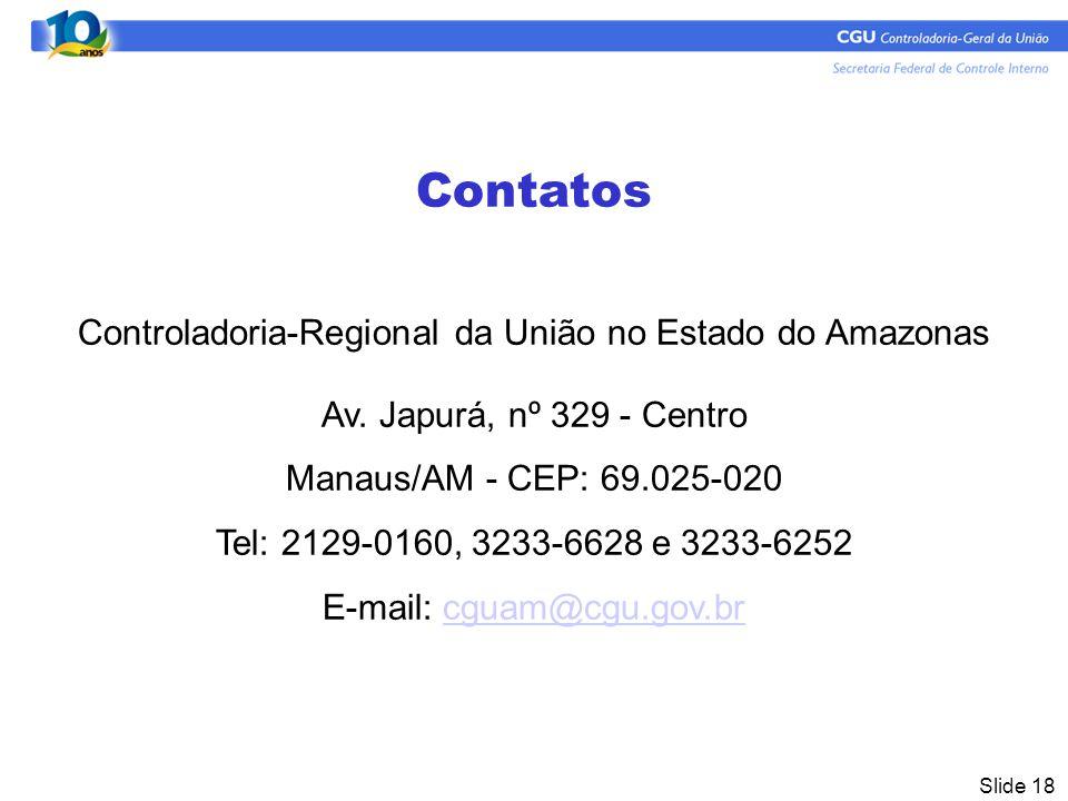 Controladoria-Regional da União no Estado do Amazonas
