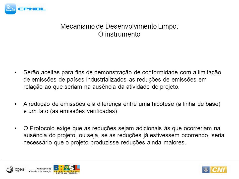 Mecanismo de Desenvolvimento Limpo: O instrumento