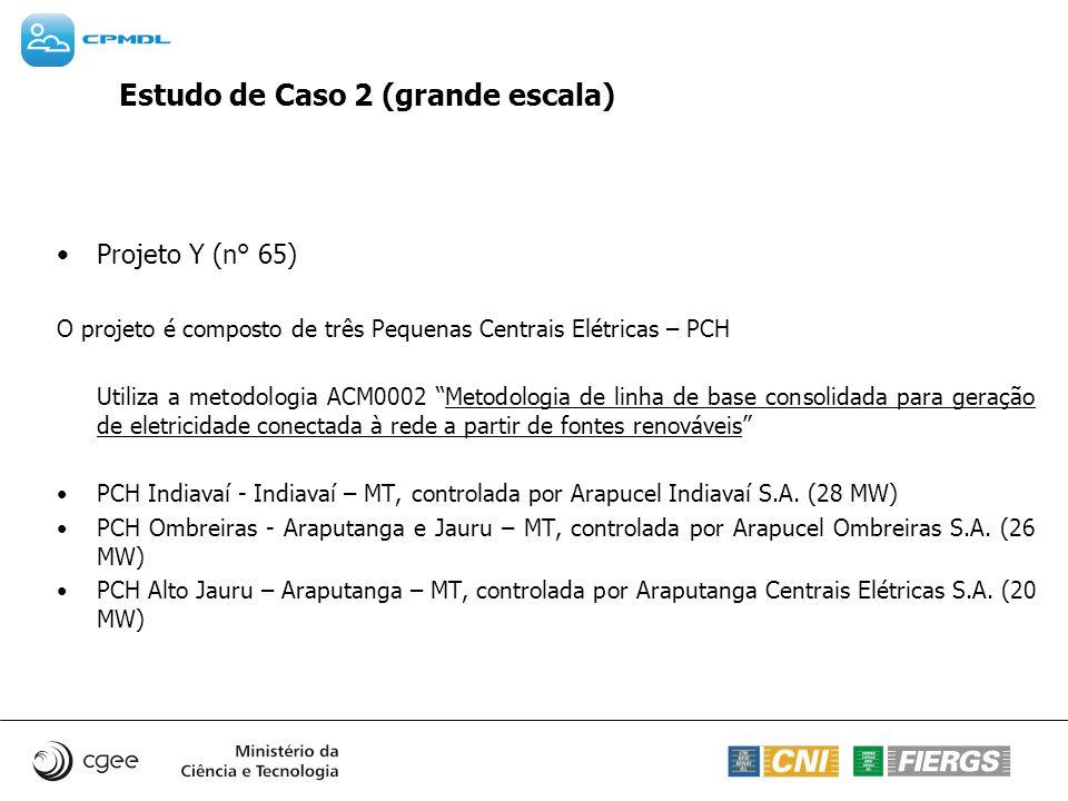 Estudo de Caso 2 (grande escala)