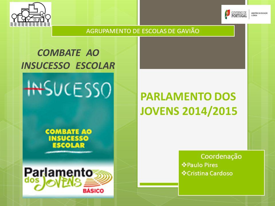 PARLAMENTO DOS JOVENS 2014/2015