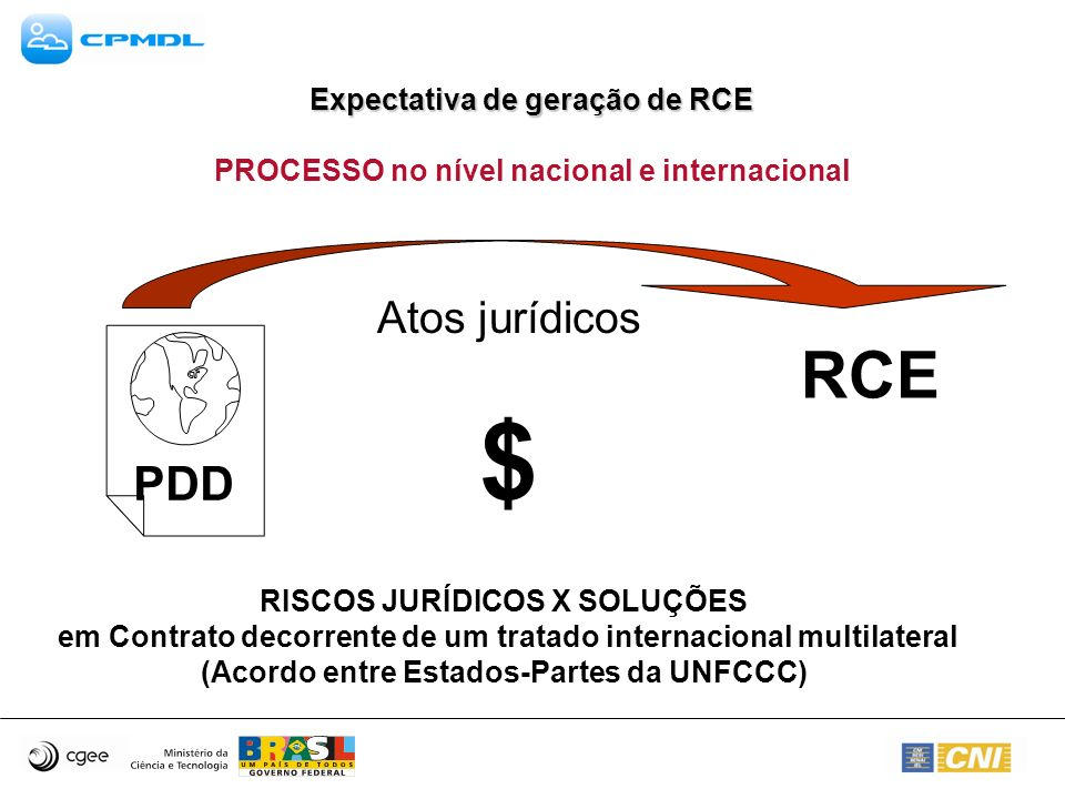 $ RCE PDD Atos jurídicos