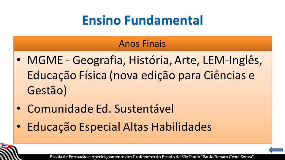 Ensino Fundamental Anos Finais. MGME - Geografia, História, Arte, LEM-Inglês, Educação Física (nova edição para Ciências e Gestão)