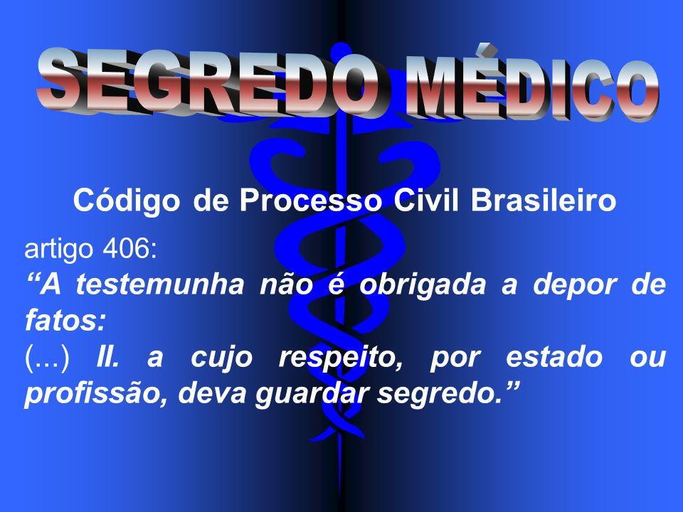 Código de Processo Civil Brasileiro