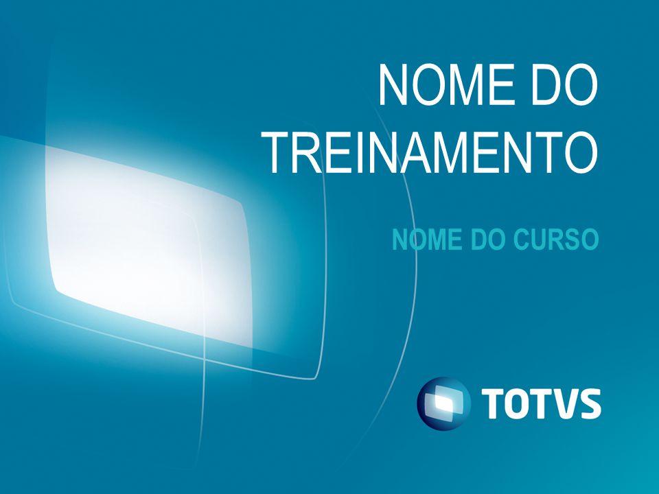 NOME DO TREINAMENTO NOME DO CURSO Olá!