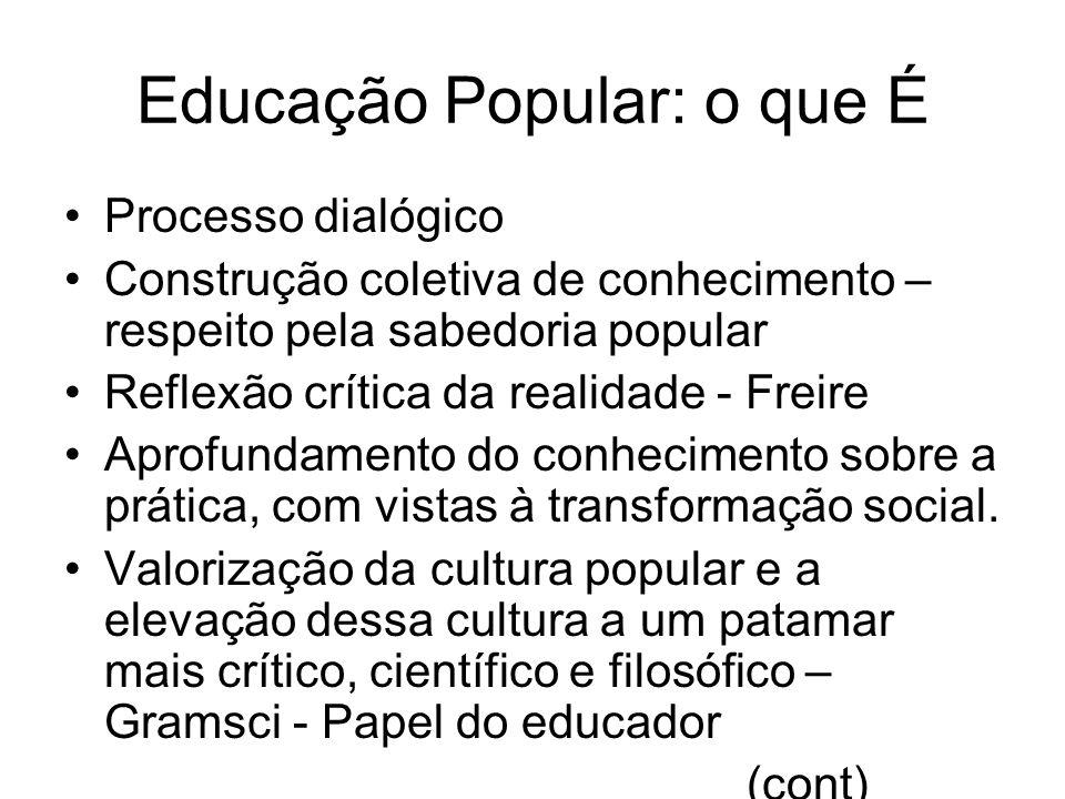 Educação Popular: o que É