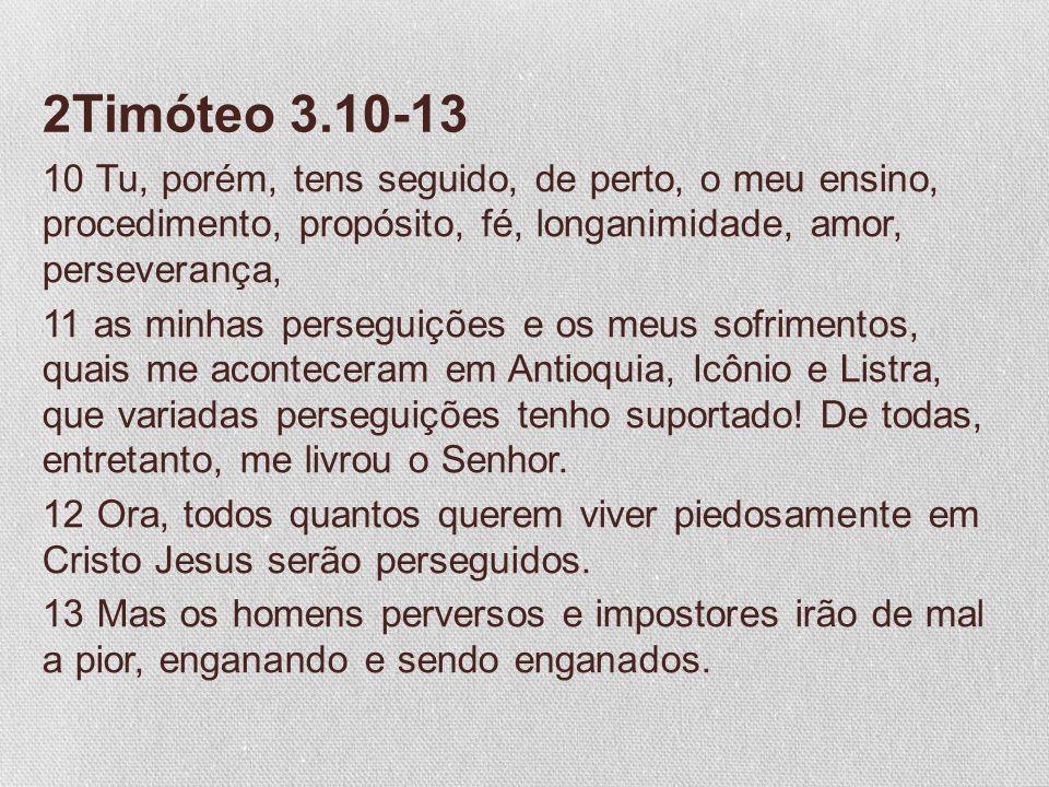 2Timóteo 3.10-13