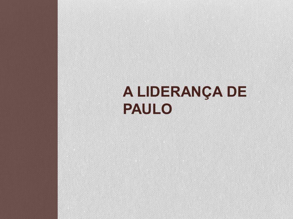 A Liderança de Paulo