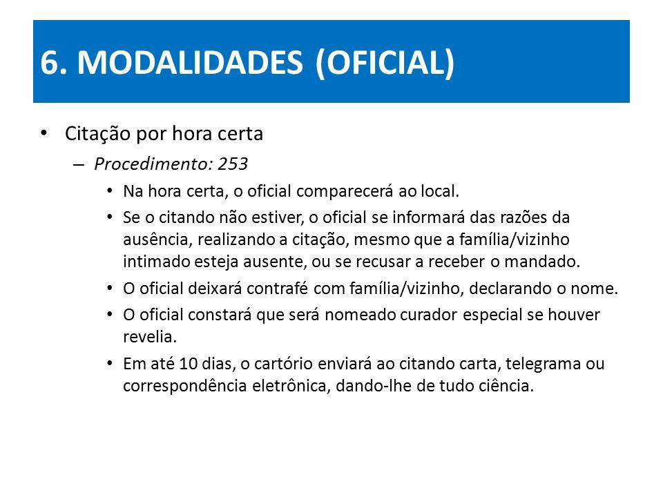 6. MODALIDADES (OFICIAL)