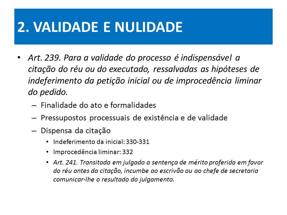 2. VALIDADE E NULIDADE