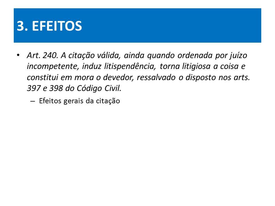 3. EFEITOS