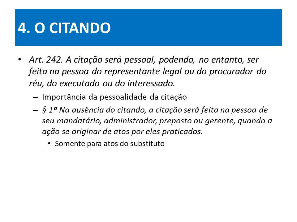 4. O CITANDO