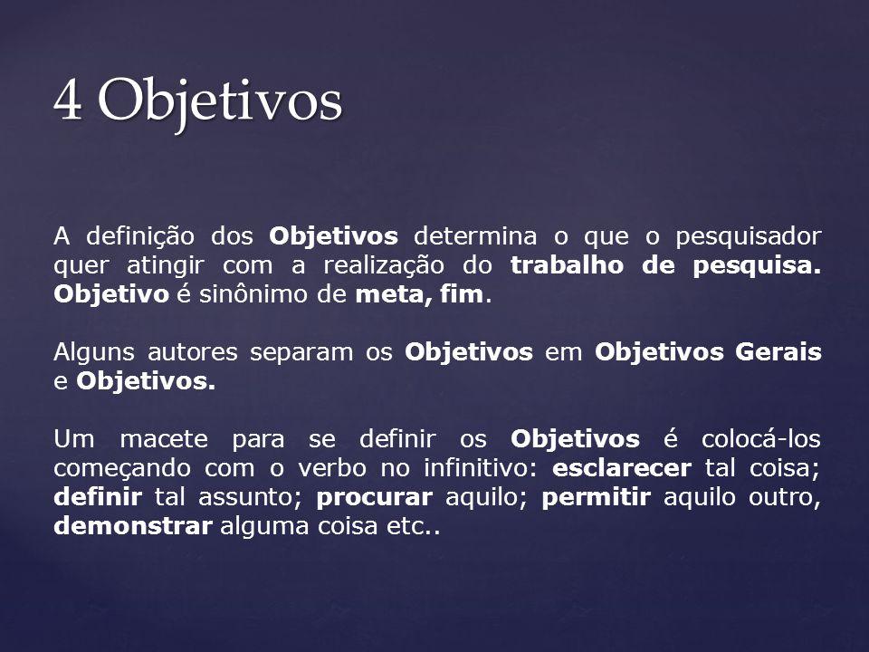 4 Objetivos