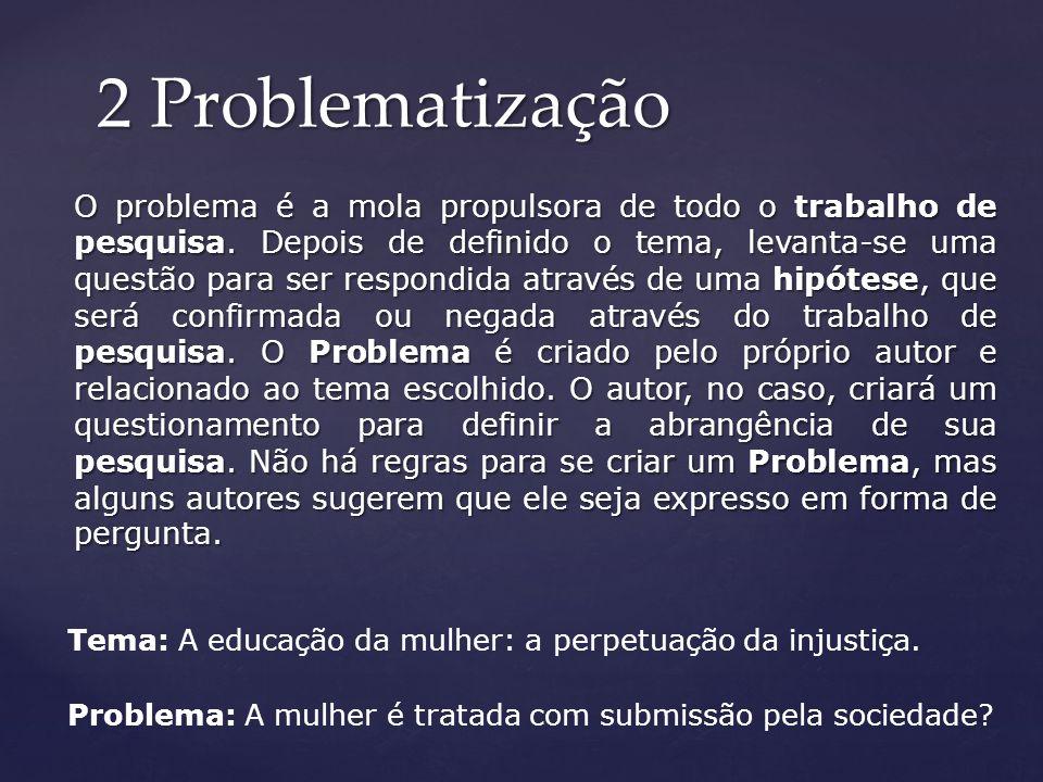 2 Problematização