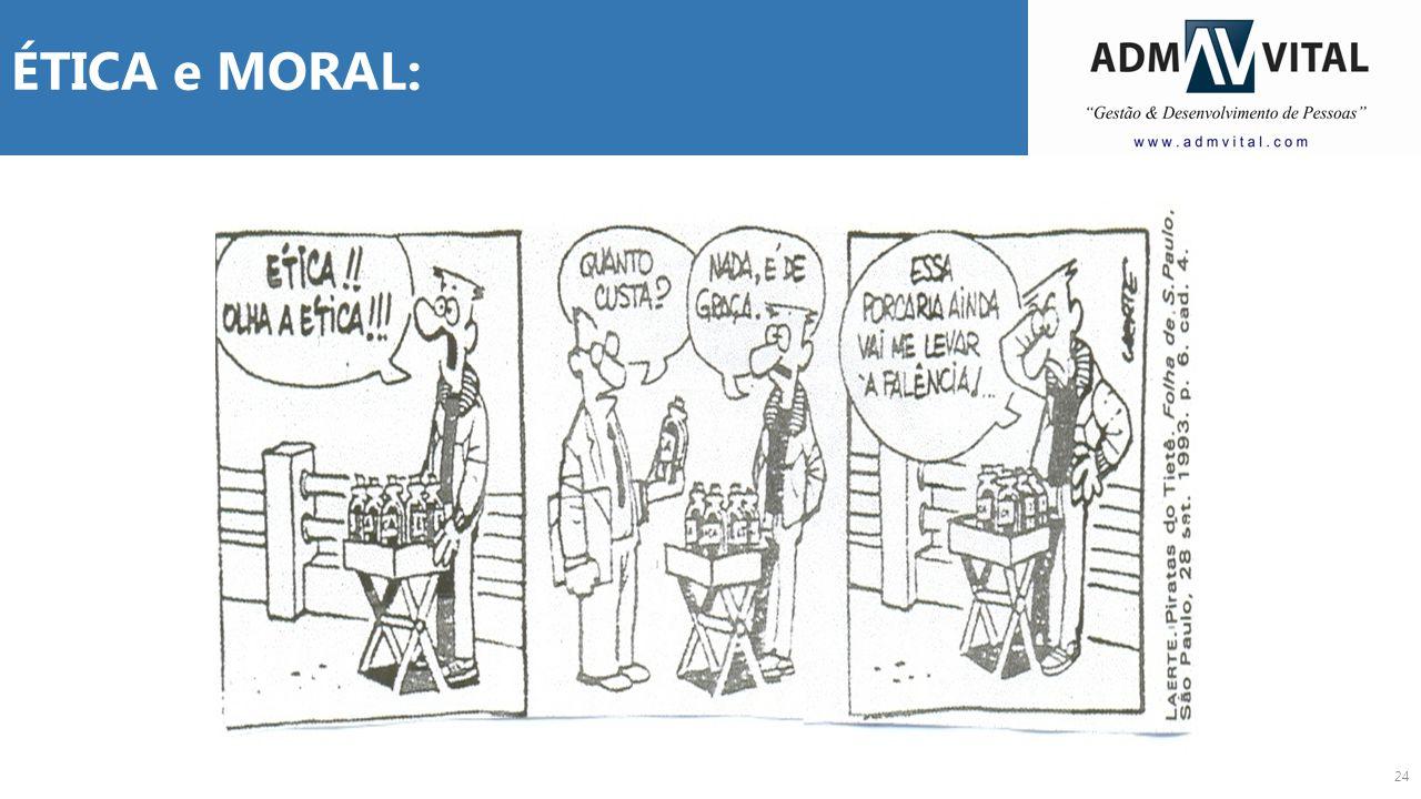 ÉTICA e MORAL: