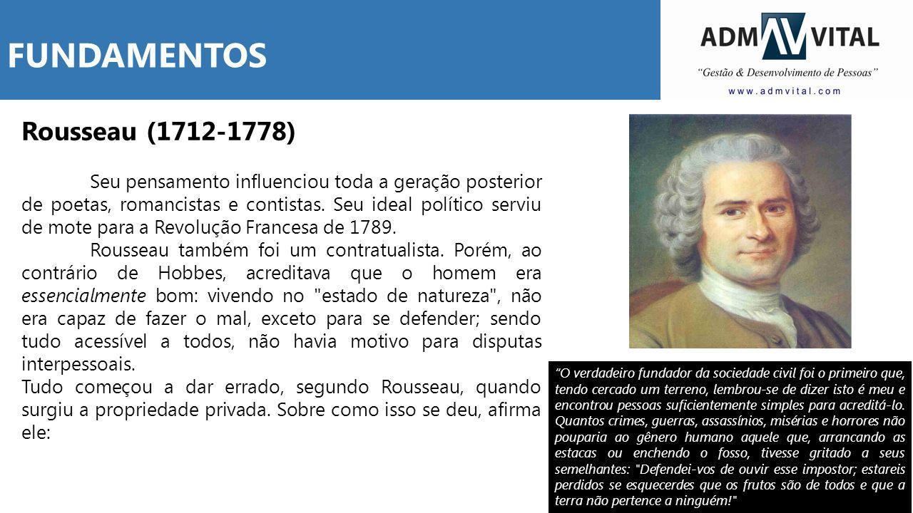 FUNDAMENTOS Rousseau (1712-1778)