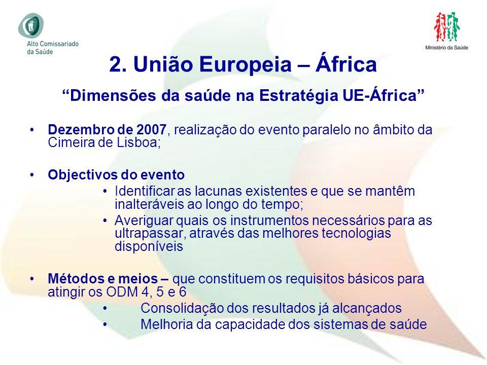 2. União Europeia – África
