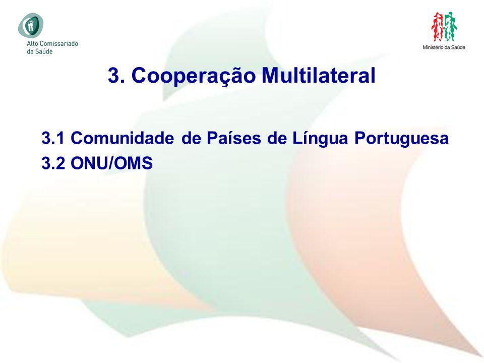 3. Cooperação Multilateral
