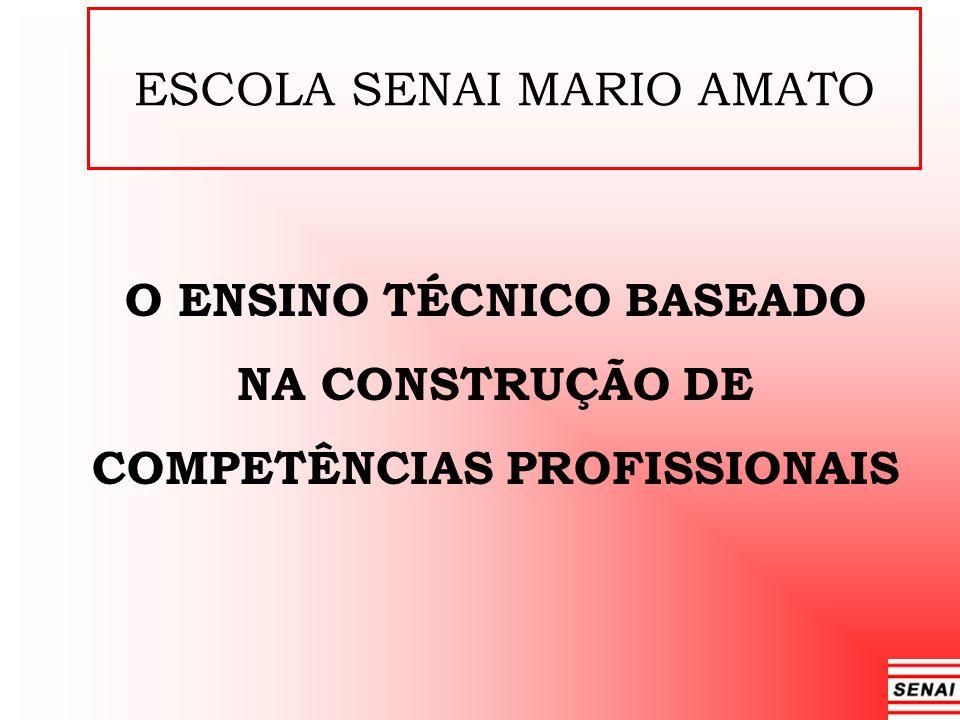 O ENSINO TÉCNICO BASEADO NA CONSTRUÇÃO DE COMPETÊNCIAS PROFISSIONAIS