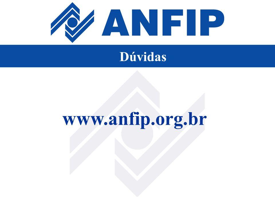 Dúvidas www.anfip.org.br