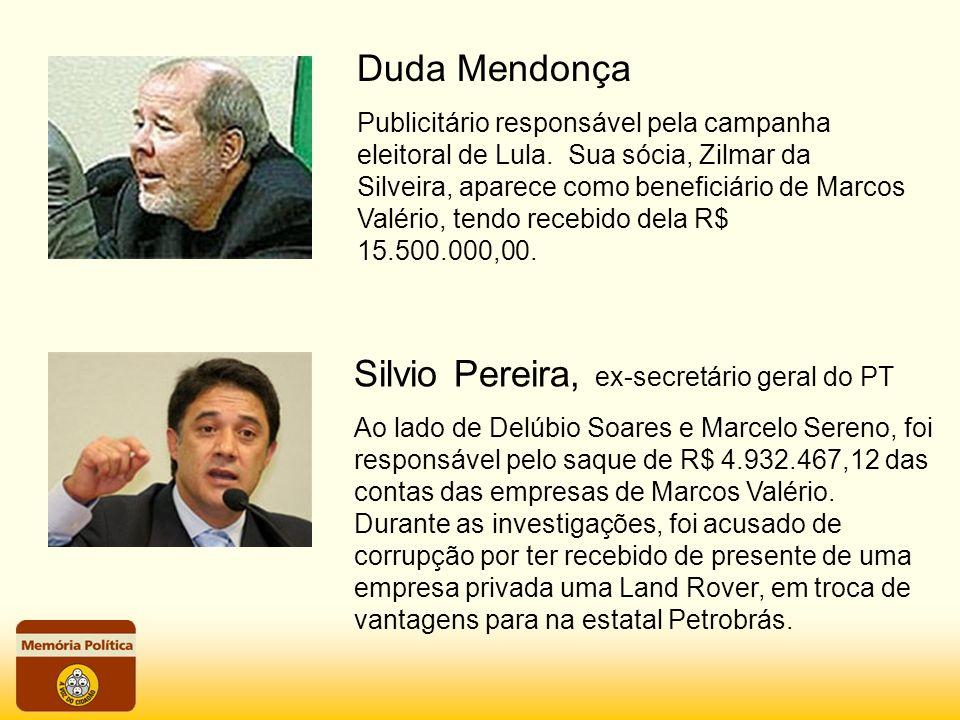 Silvio Pereira, ex-secretário geral do PT