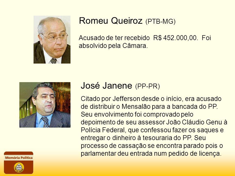 Romeu Queiroz (PTB-MG)