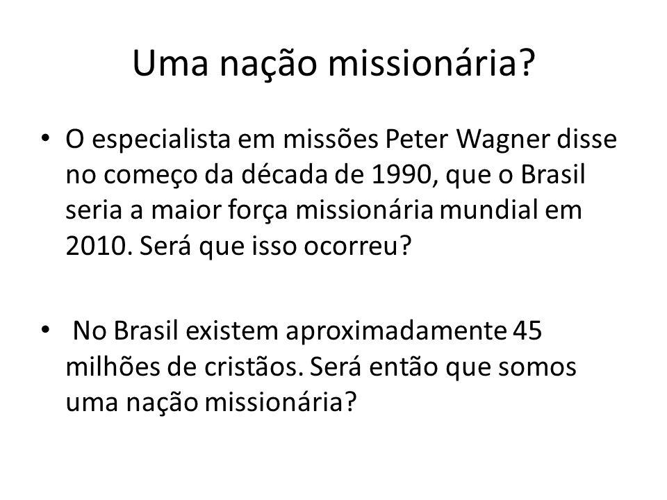 Uma nação missionária